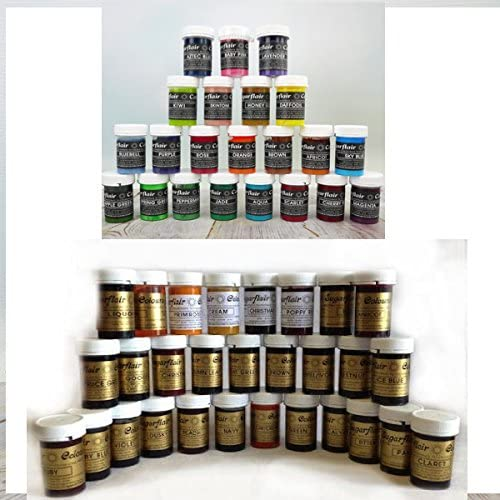 73 Sugarflair At the price Food Colour pots Sin Based Plus Super Special SALE held Gel of