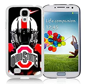 Ncaa Big Ten Conference Football Ohio State Buckeyes 46 White Cool Photo Custom Samsung Galaxy S4 I9500 Phone Case