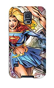 New Super Strong Supergirl Tpu Case Cover For Galaxy S5