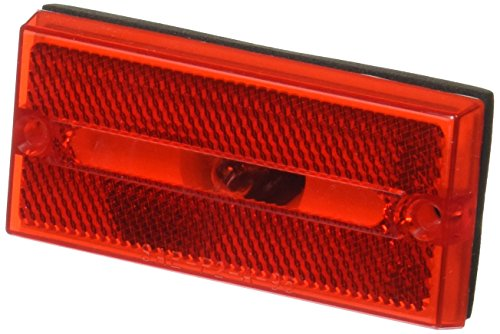 Peterson Manufacturing V132R Red Rectangular Clearance/Side Marker (Peterson Clearance Lights)