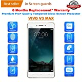 VIVO V3 MAX Premium Tempered Glass Screen Protector Guard With FREE Installation Kit & Warranty