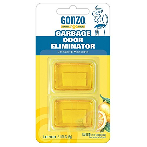 Gonzo Natural Magic Garbage Odor Eliminator - Lemon Scent Odor Magic