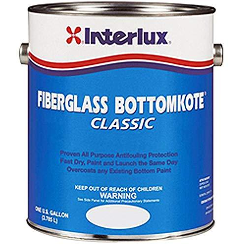 Interlux New Fiberglass BottomKote Red Gallon Bottom Coat, 02651297, YBB449 ()