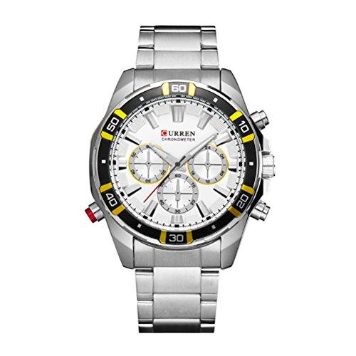 New CURREN Top Brand Design Business Army Sport Quartz Watches Men Casual Military Wristwatches