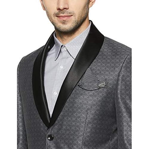 51Kck45GOVL. SS500  - blackberrys Men's Shawl Collar Slim Fit Blazer