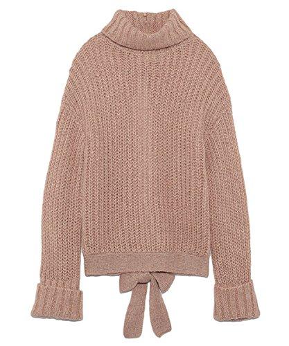 Amazon | (リリーブラウン)Lily Brown バックオープンプルオーバー LWNT165012 66 PNK F | セーター 通販