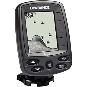 Lowrance x 4 fishfinder 200khz transom mount for Amazon fish finder