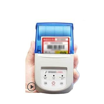 Etiqueta portátil Impresora térmica Teléfono móvil Bluetooth ...