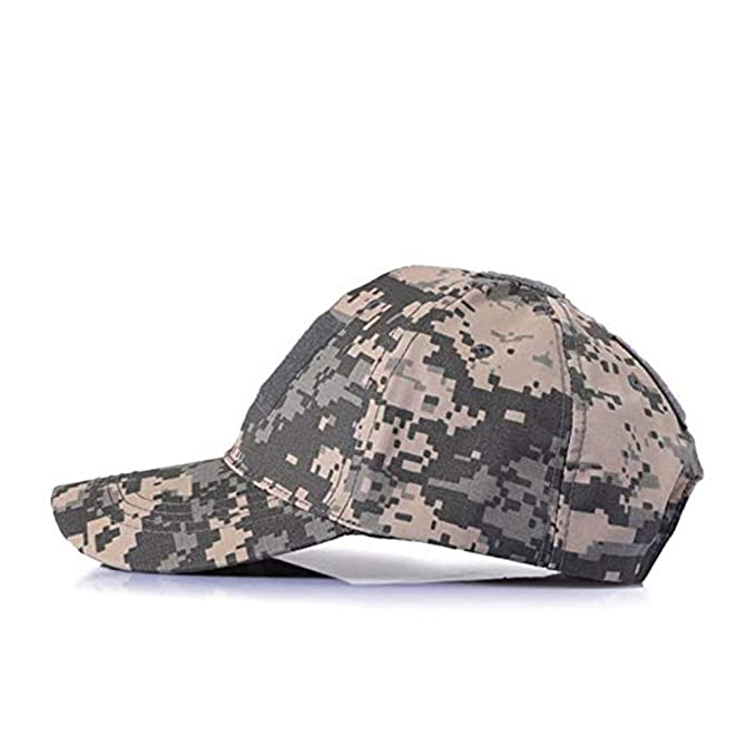 056d1c63cc0b0 Winslet Ejército de Béisbol Militar Táctico Camuflaje Sombrero Gorra con  Visera para Wargame Caza Pesca al