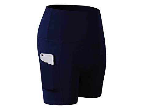High Waisted Performance Gym /& Running Short 7 Inch Inseam HEAD Womens Compression Workout Shorts