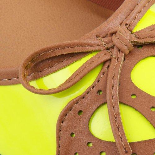 mujer Dolcis plataformas sintético de Amarillo rectas amarillo wwxOZUT