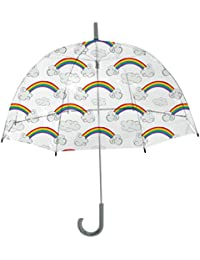Kids Sky Collection Rainbows Umbrella, Clear