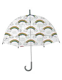 Rainbrella Kids Sky Collection - Paraguas con Arco Iris, Transparente