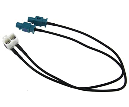 Amazon com: Radio Antenna Aerial Adapter Cable 32cm For VW
