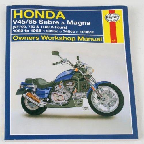 Honda V45 Magna - 4
