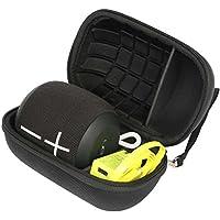 Khanka Hard Travel Case Replacement for Ultimate Ears WONDERBOOM/WONDERBOOM 2 Waterproof Super Portable Bluetooth Speaker - (Black)