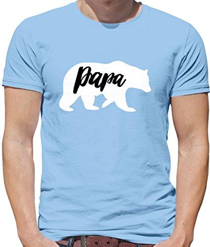 13 T Papa Ciel Bleu shirt Homme Dressdown Couleurs Bear qvXSfnA