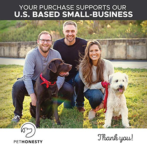Salmon Oil for Dogs - Omega 3 Fish Oil For Dogs All-Natural Wild Alaskan Salmon Chews Omega 3 for Dogs for Healthy Skin & Coat, Cure Itchy Skin, Dog Allergies, Reduce Shedding - 90 Ct. Fish Oil by PetHonesty (Image #8)