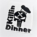 Punisher Killin Dinner | Instant Pot Black Vinyl Decal