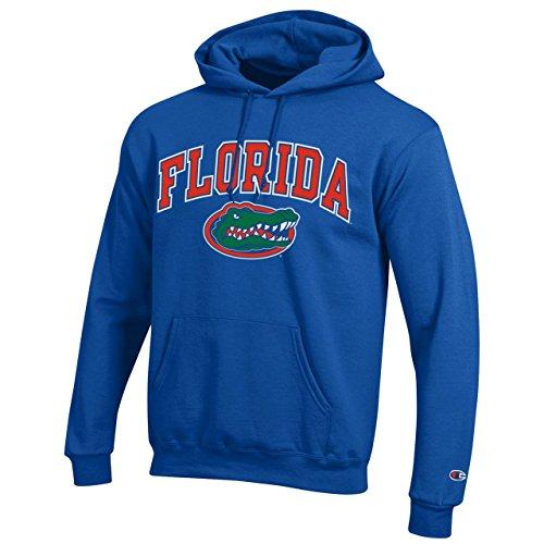 Florida University Football Gators - Campus Colors Florida Gators Arch & Logo Gameday Hooded Sweatshirt - Royal, Large