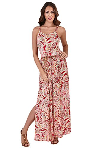 Womens Dress D817 - Pink Multi - Large ()
