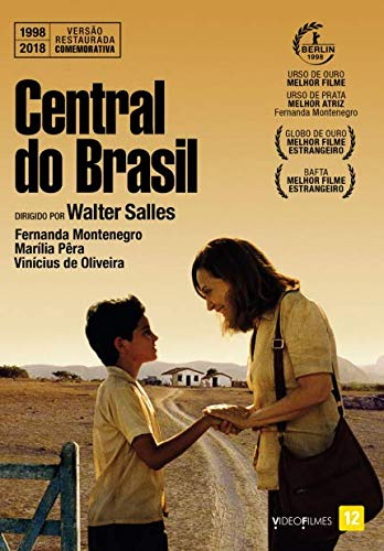 DVD Central do Brasil [ Central Station ] [ Subtitles in English + French + Spanish ] Region ALL