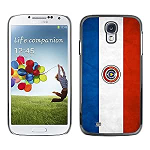 Shell-Star ( National Flag Series-Paraguay ) Snap On Hard Protective Case For Samsung Galaxy S4 IV (I9500 / I9505 / I9505G) / SGH-i337