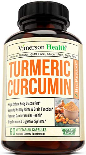 Turmeric Curcumin with Bioperine Joint Pain Relief - Anti-Inflammatory