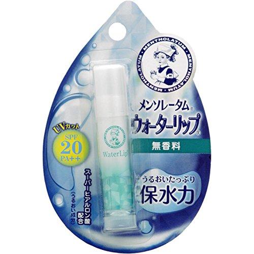 Rohto MENTHOLATUM LipCare Water Lip Unscented SPF20 PA++ 4.5g