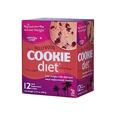 Hollywood Diet Miracle Products Cookie Diet Meal Replacement Cookie -- 12 Cookies