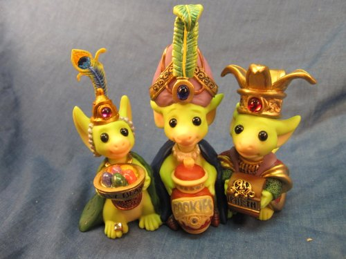 Wee Three Kings...... Pocket Dragon