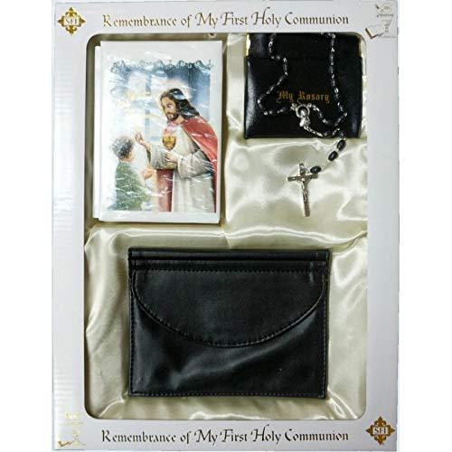 Catholic & Religious Gifts, First Communion Gift Set BOY Spanish