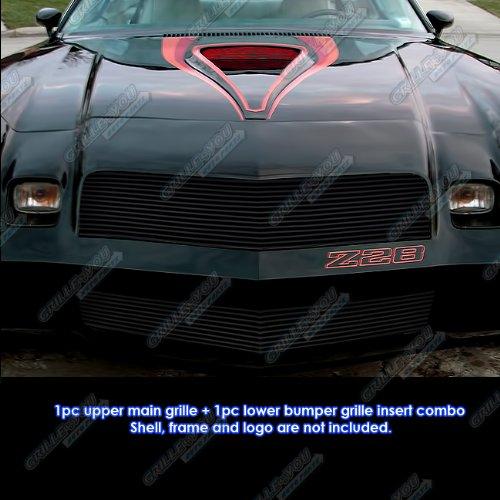 1978-1981 Chevy Camaro Black Billet Grille Grill Combo Insert # C81034H Camaro Billet Grill