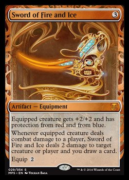 Magic: the Gathering - Sword of Fire and Ice (029/054) - Masterpiece Series: Kaladesh & Aether Revolt Inventions - Foil