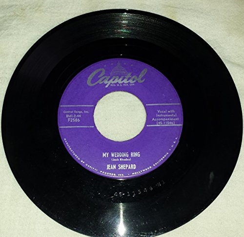 "Price comparison product image Forgive Me John / My Wedding Ring (45 RPM 7"" Single Vinyl Record)"