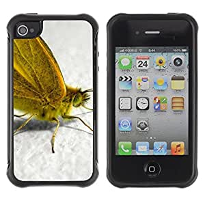 "Hypernova Defender Series TPU protection Cas Case Coque pour Apple iPhone 4 / iPhone 4S [Planta Naturaleza Forrest Flor 55""]"