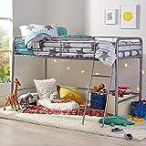 AmazonBasics Metal Twin Loft Bed, Easy