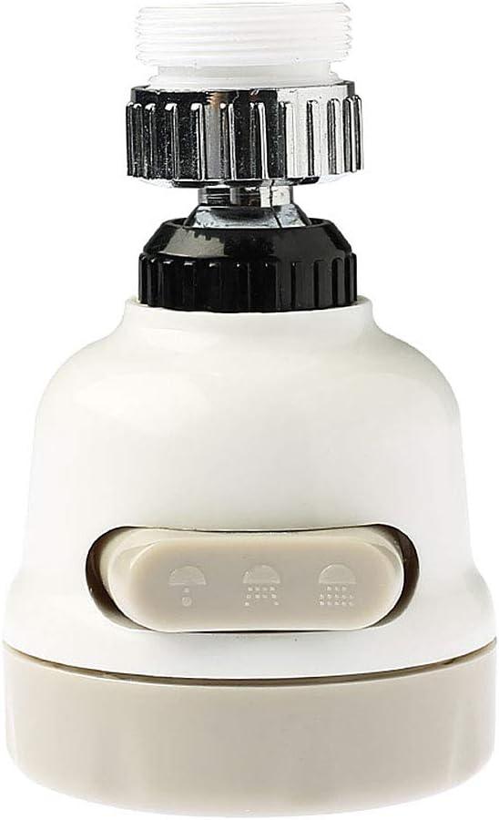 qfkj Faucet Extender Water Saving 360 Degree Rotary Swivel Faucet Nozzle Filter 2 Modes Adjustable Bathroom Kitchen Tools Splash Extension Shower Bathroom