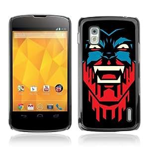 YOYOSHOP [Cool Vampire Illustration] LG Google Nexus 4 Case by icecream design
