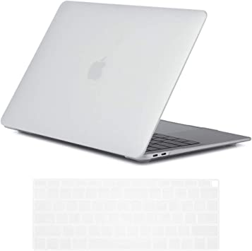 """Crystal Matte Plastic Case Laptop Hard Cover For MacBook Air 13/"""" Inch 2018 A1932"""