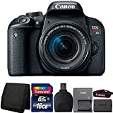 Canon EOS Rebel T7i DSLR Camera with 18-55mm IS STM Lens and Accessories