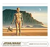 Books : Star Wars Art: Ralph McQuarrie 2020 Poster Calendar