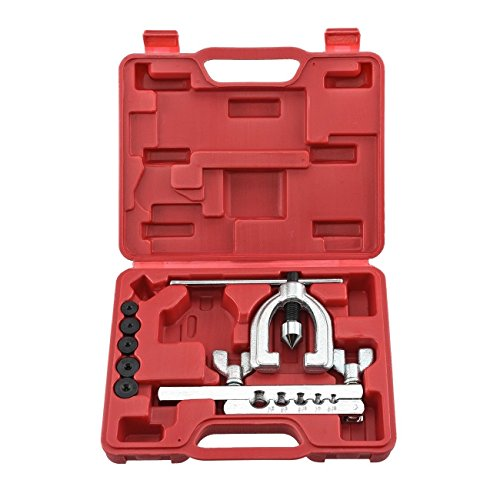 NEW Double Flaring Brake Line Tool Kit Tubing Car Truck Tool with storage case