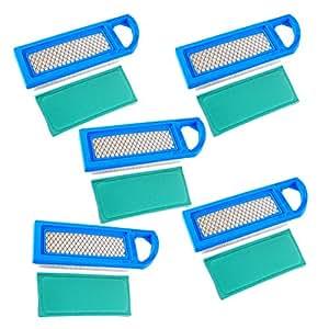 HIFROM Filtro de aire con Pre filtro de aire 697015reemplazar para Briggs and Stratton Bs 697153697014697014697634698083795115797008Stens 102–875Oregon 30–122