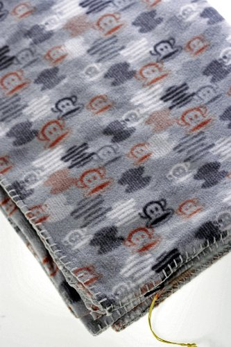 PAUL FRANK JULIUS ABSTRACT GREY BLANKET