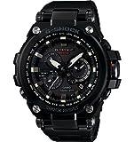 Casio G-Shock Black Dial Stainless Steel Resin Quartz Men's Watch MTGS1000BD-1A
