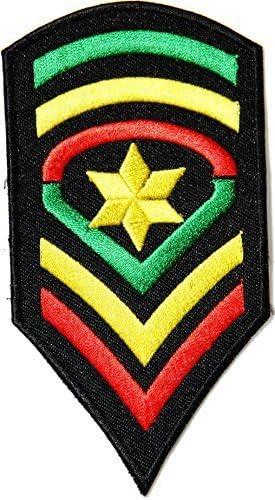 Militar de clasificación de sargento mayor del ejército Rasta ...