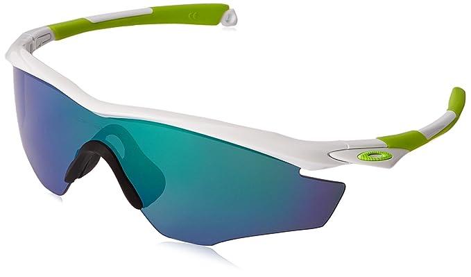 cb54210c857 Amazon.com  Oakley Men s M2 Polarized Iridium Shield Sunglasses ...
