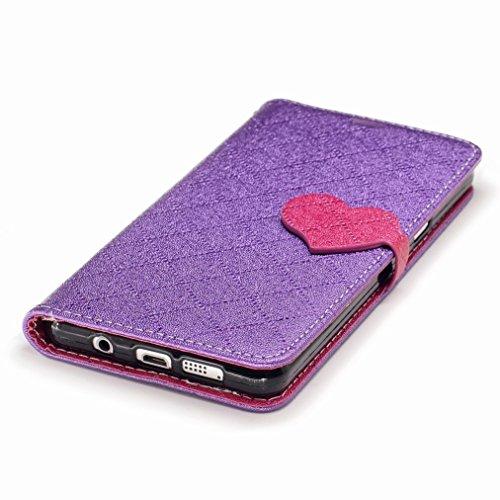 Yiizy Samsung Galaxy A3 (2016) / A310F / A310M / A310Y Custodia Cover, Amare Design Sottile Flip Portafoglio PU Pelle Cuoio Copertura Shell Case Slot Schede Cavalletto Stile Libro Bumper Protettivo Bo