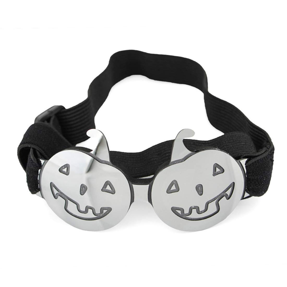 YUHAO Pet Sunglasses Halloween Funny Colorful Pumpkin Glasses Small and Medium Dogs Cats Apply,Silver by YUHAO